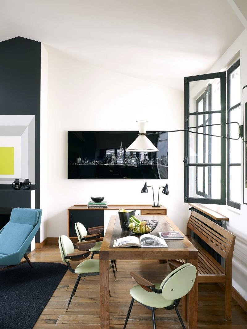 House Tour Of An Eclectic Paris Loft With Vintage Furniture