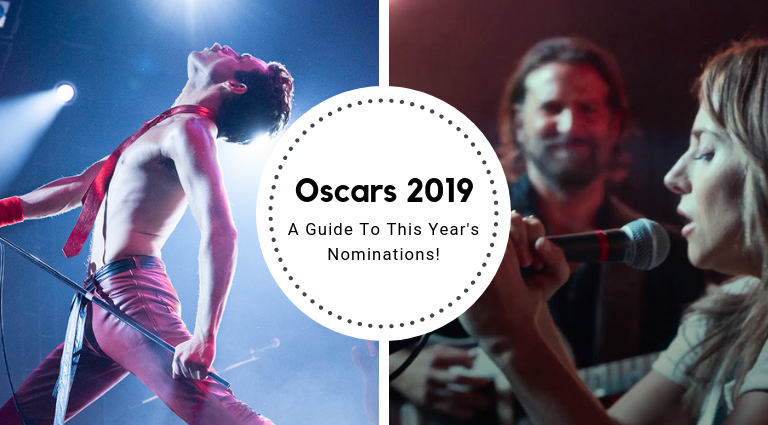 A Guide To The Oscars 2019 Nominations oscars 2019 A Guide To The Oscars 2019 Nominations A Guide To The Oscar 2019 Nominations feat 768x425
