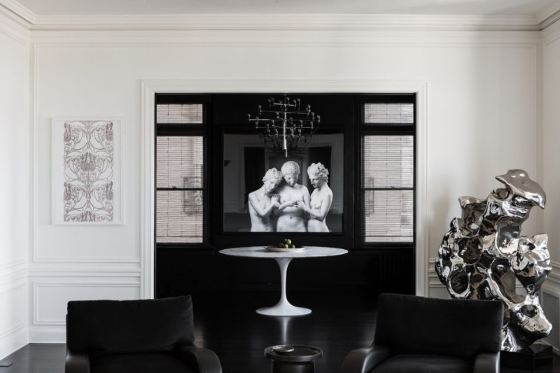 black and white interior design Dazzling Black And White Interior Design Ideas Dazzling Black And White Interior Design Ideas 10