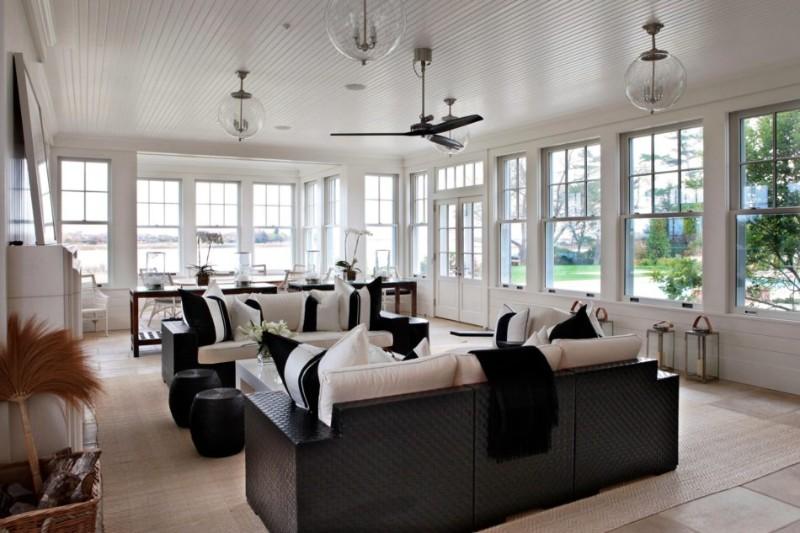 black and white interior design Dazzling Black And White Interior Design Ideas Dazzling Black And White Interior Design Ideas 11