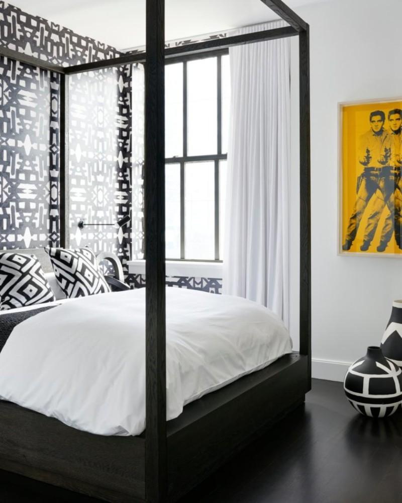black and white interior design Dazzling Black And White Interior Design Ideas Dazzling Black And White Interior Design Ideas 13