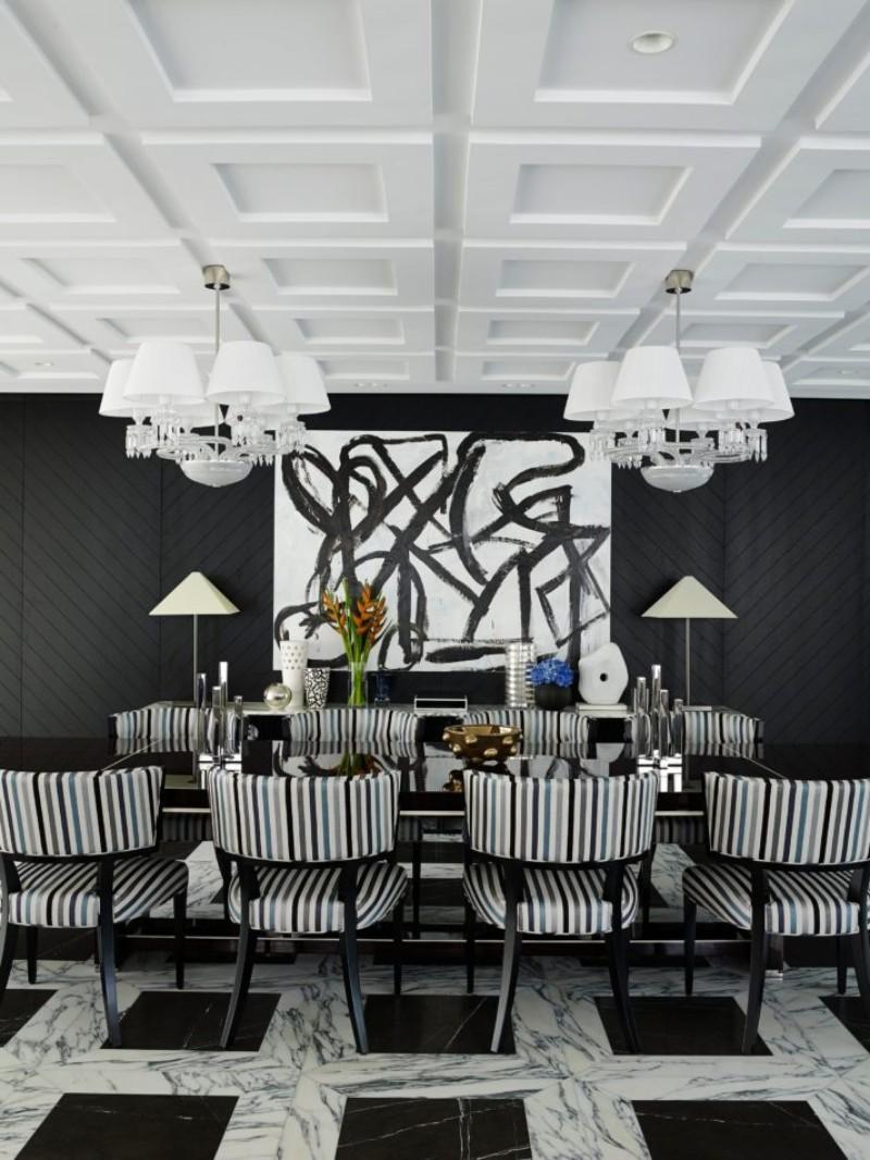 Dazzling Black And White Interior Design Ideas black and white interior design Dazzling Black And White Interior Design Ideas Dazzling Black And White Interior Design Ideas 3