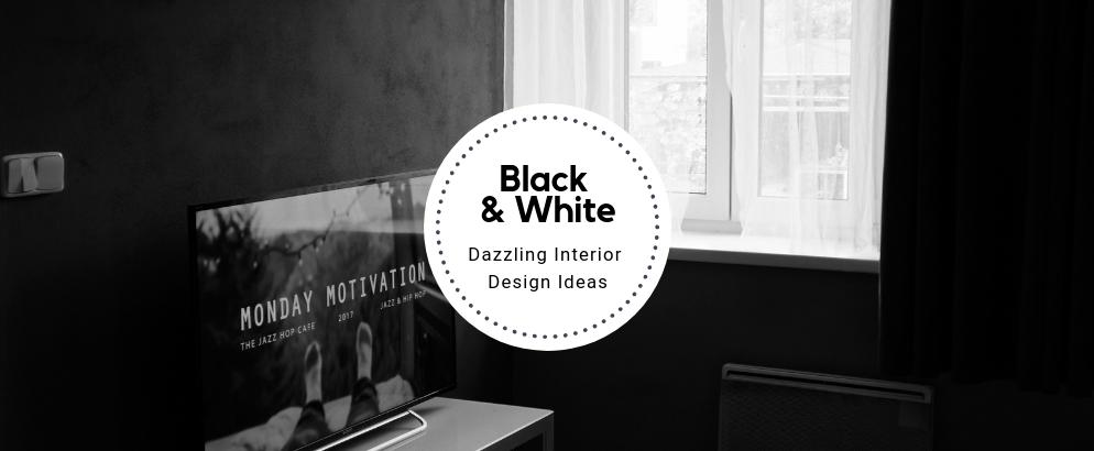 Dazzling Black And White Interior Design Ideas black and white interior design Dazzling Black And White Interior Design Ideas Dazzling Black And White Interior Design Ideas feat 994x410