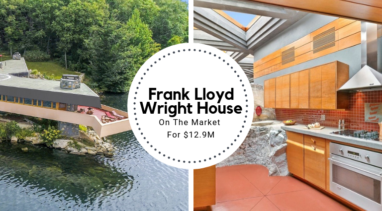 A Frank Lloyd Wright Inspired House On The Market For $12.9M