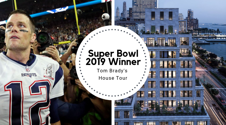 Super Bowl 2019 Winner Tom Brady's House Tour