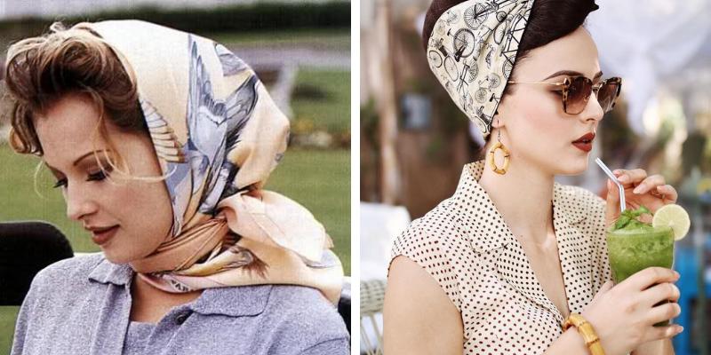 Fashion Trend Alert: Vintage Head Scarves Are Back!