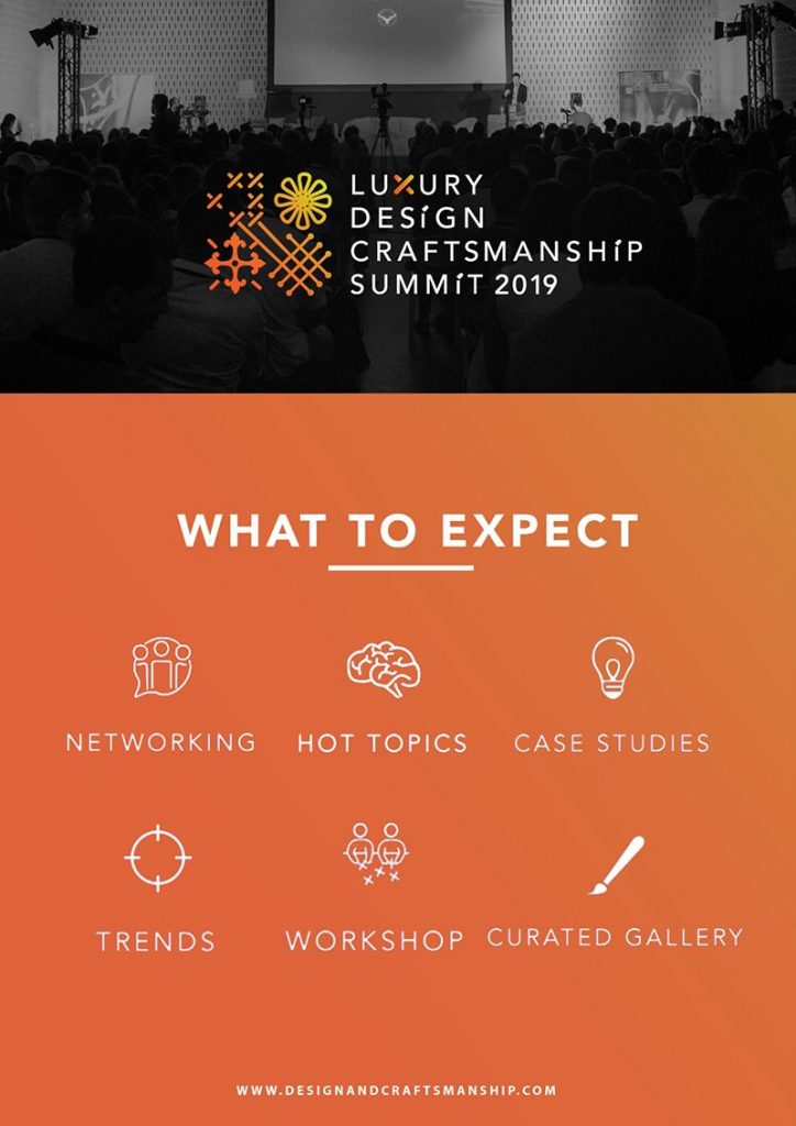 Luxury Design And Craftsmanship Summit Is Back For A 2nd Edition!_2
