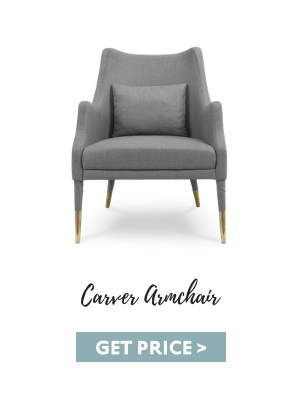 mid-century suspension lamps Get The Look: Mid-Century Suspension Lamps Are Back! carver armchair 2