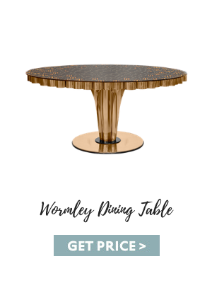 mid-century suspension lamps Get The Look: Mid-Century Suspension Lamps Are Back! wormley dining table