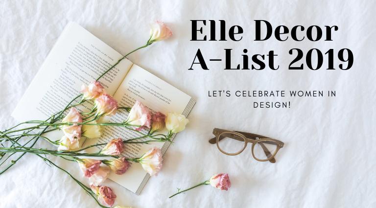 Elle Decor A-List 2019: Let's Celebrate Women In Design! elle decor a-list 2019 Elle Decor A-List 2019: Let's Celebrate Women In Design! Elle Decor A List 2019  Designs Future Is Female feat 1 1 768x425