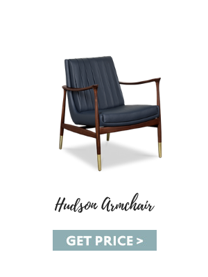 mid-century modern home office How To Create A Mid-Century Modern Home Office hudson armchair 1