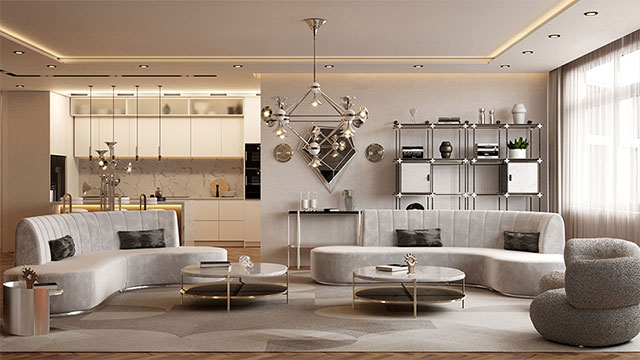 Essential Home's Million dollar Modern Apartment New York
