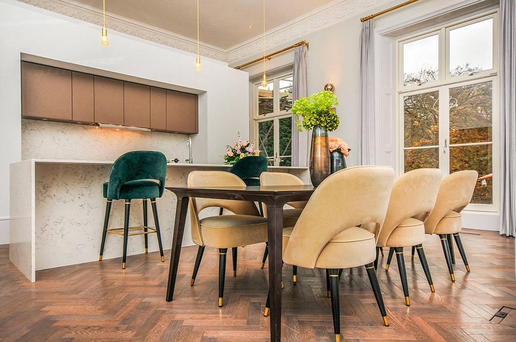 Essential Home Mid Century Furniture, Olinde 8217 S Dining Room Furniture Sets