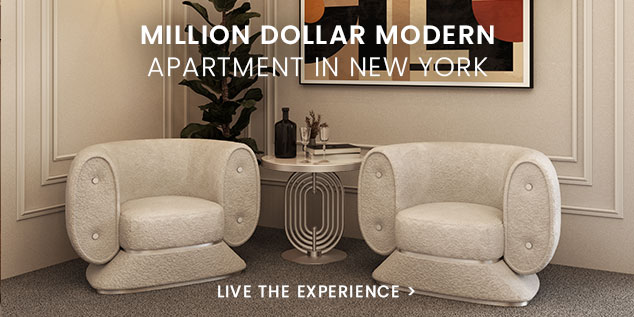 Million Dollar Modern Apartment in New York, Essential Home, mid century design, mid century modern furniture, mid century modern homes