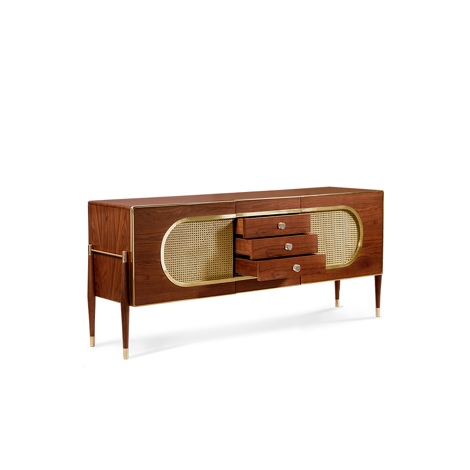 Its Body Is Entirely Made Of Solid Walnut Wood And It Resembles A Kitsch Radio Because Shape The Use Grill Cloth On Doors