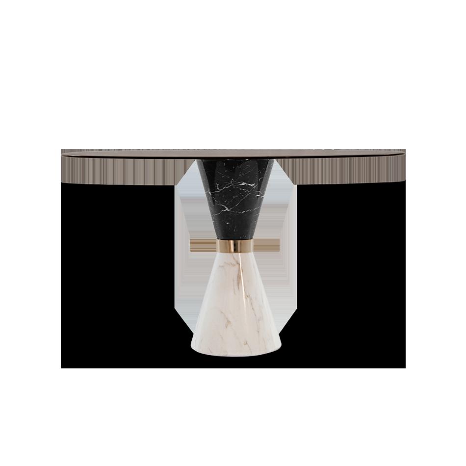 Vinicius Dining Table Essential Home Mid Century Furniture