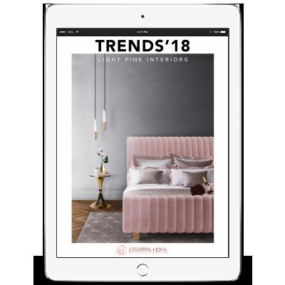 Design Books 2018 light pink interiors