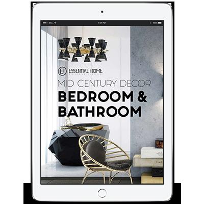 Mid-Century-Bedroom-&-Bathroom  Design Books mid century decor bathroom bedroom