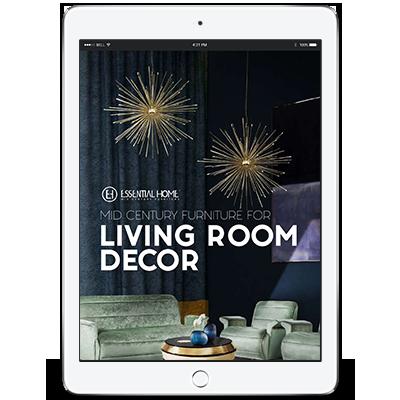 Design Books mid century living room decor