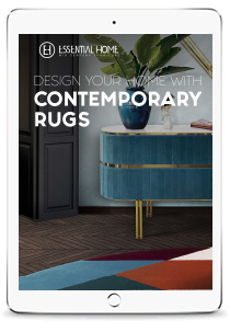 Contemporary Rugs  Design Books mid century rugs