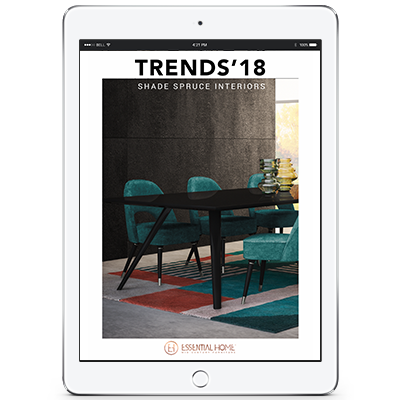Design Books trend color 2018 shaded spruce