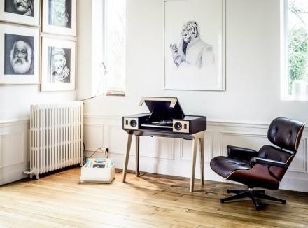 mid-century modern speaker by La boite concept at maison et objet