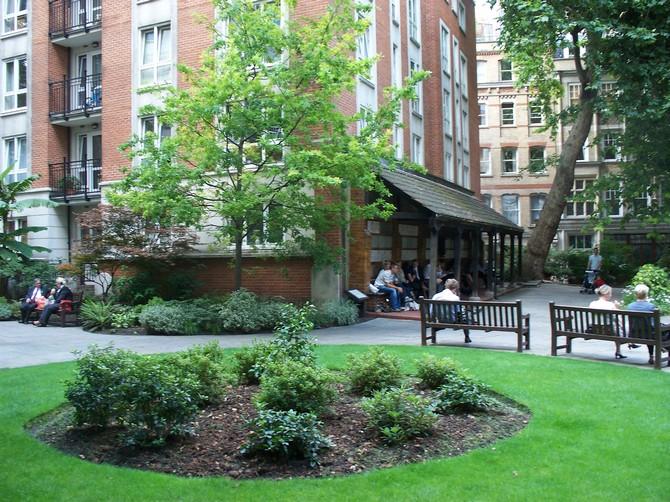 Postman's Park  10 Places to Visit in London Postmans Park