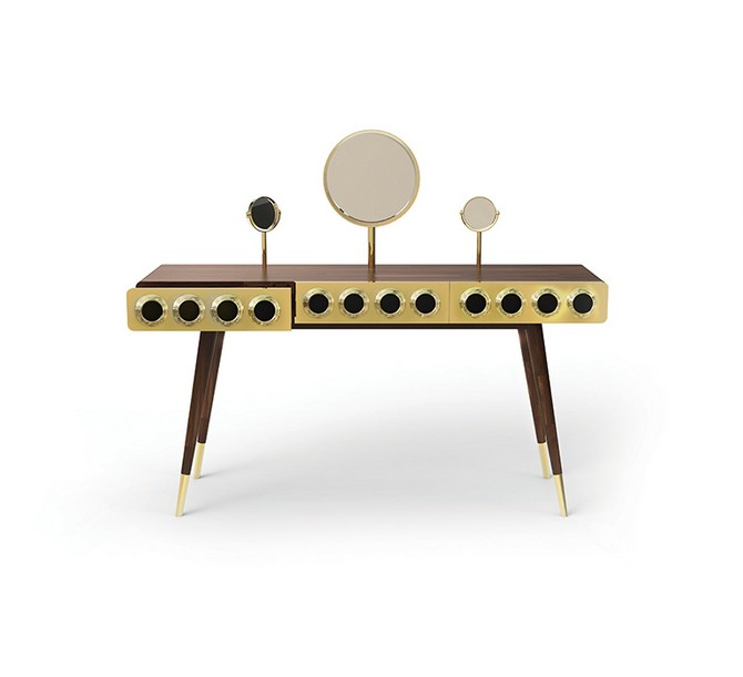 monocles dressing table mid century modern esential home  Valentine's Day: Top 5 Products for your Home monocles dressing table mid century modern esential home