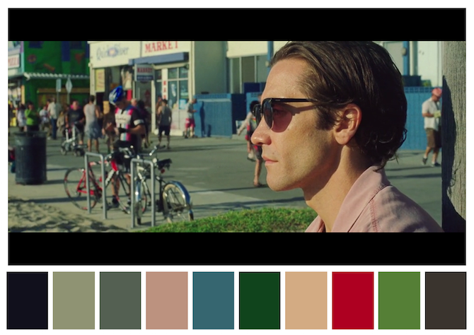 15 Film Color Palettes & Their Matching Mid-Century Furniture Item