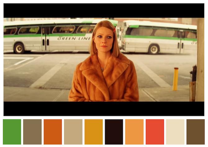 Color in movie