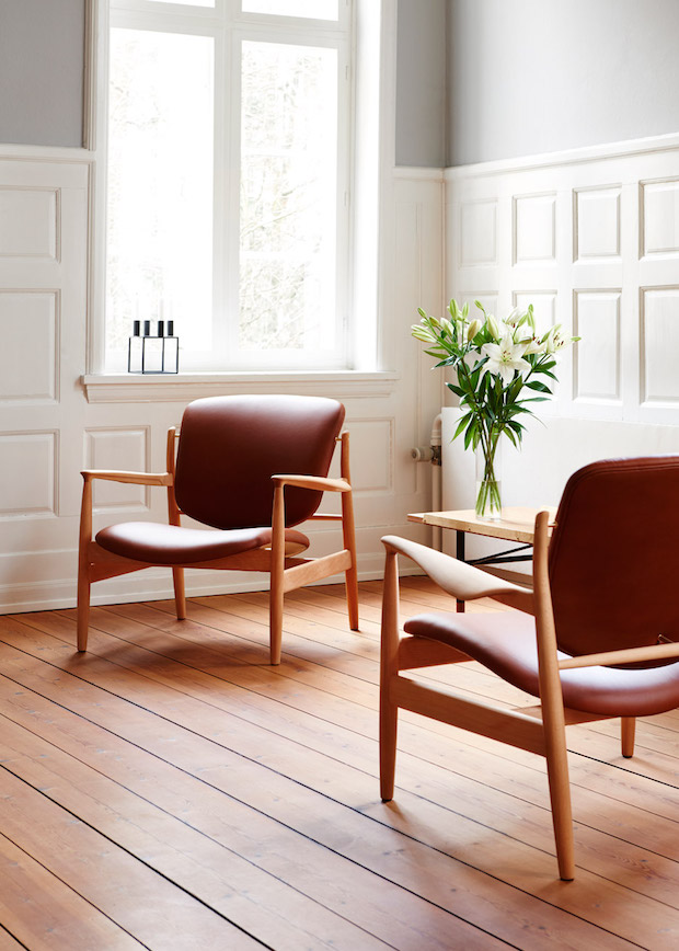 france-chair-one-collection-furniture-design-Relaunch of an 1958 chair by Finn Juhl_1 danish design Relaunch of an 1950's Danish Design Chair by Finn Juhl france chair one collection furniture design Relaunch of an 1958 chair by Finn Juhl 1