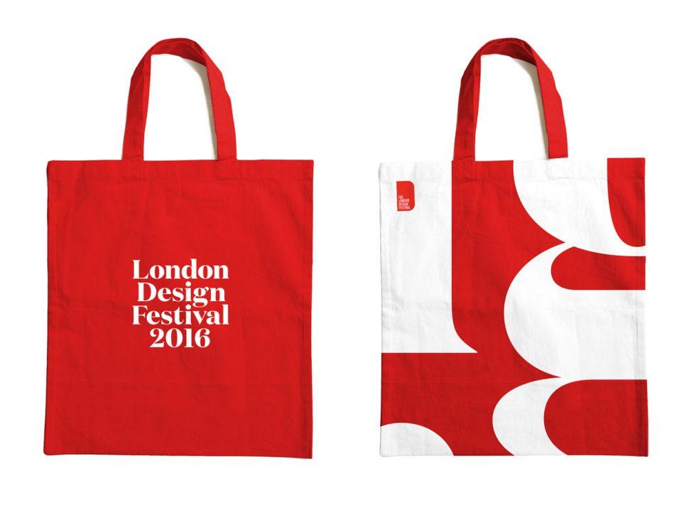 london design festival bags London Design Festival London Design Festival 2016: flooding the city in red and white London design festival bags