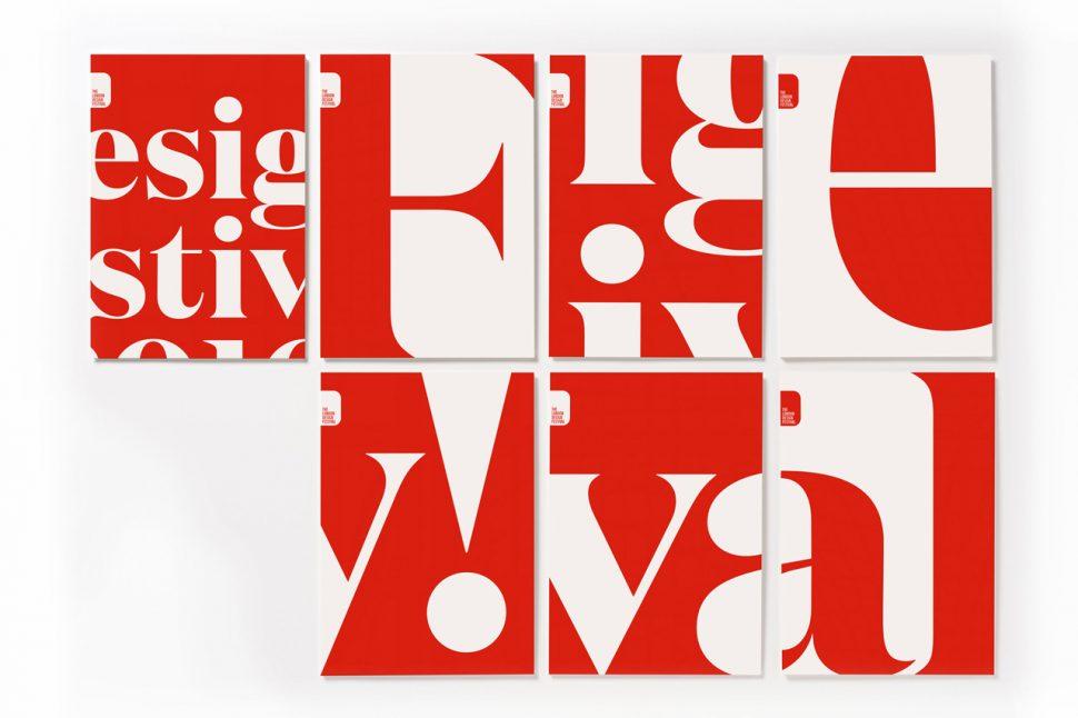 london design festival cartazes London Design Festival London Design Festival 2016: flooding the city in red and white London design festival cartazes