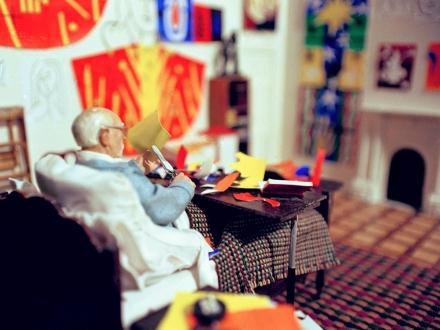 Joe Fig creates hyper realistic sculptures of famous artists