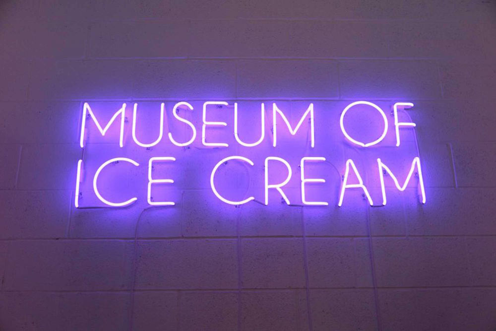 """The Museum of Ice Cream The temporary museum, which sits just across from The Whitney in New York's Meatpacking District, was opened July 29th – September 4th. Though the museum's founders, Maryellis Bunn and her boyfriend Manish Vora, have not officially announced an extension of the project, they are certainly looking into it so more people can bathe in sprinkles and add a scoop to the """"world's largest ice cream sundae."""" Until then, your best hope of getting in is keeping an eye on the museum's social media announcements, because they have been releasing small batches of tickets online first thing in the morning. museum of ice cream The Museum of Ice Cream in New York City Taste Museum of Ice Cream 1"""
