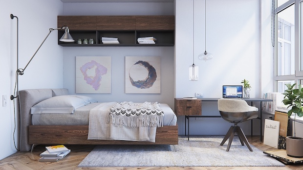 pastel-scandinavian-bedroom-design Scandinavian Bedroom 5 Ideas/Inspirations to a Scandinavian Bedroom pastel scandinavian bedroom design
