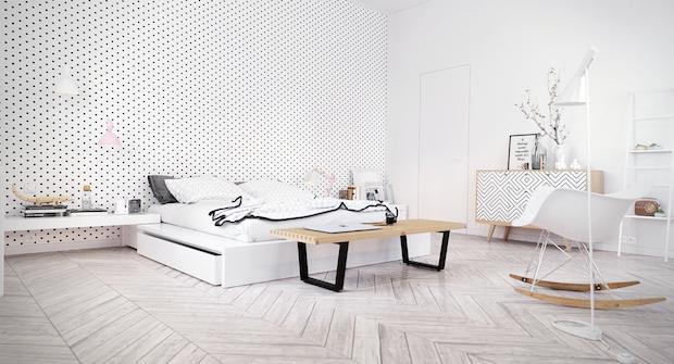 scandinavian-bedroom-design-ideas Scandinavian Bedroom 5 Ideas/Inspirations to a Scandinavian Bedroom scandinavian bedroom design ideas
