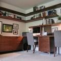 mid-century modern home-office-ideas