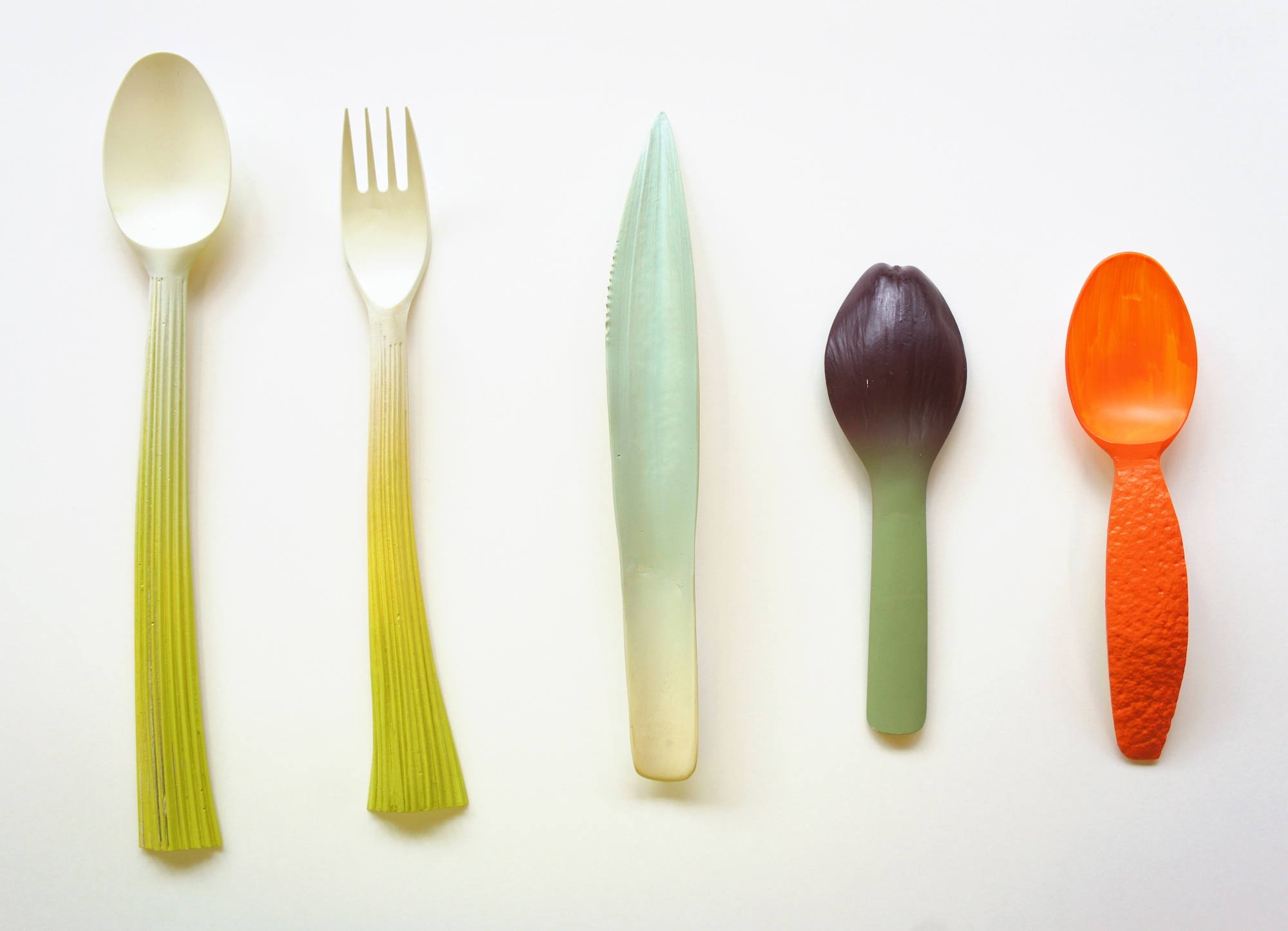 Chinese designer creates biodegradable utensils with corn starch designer Chinese designer creates biodegradable utensils with corn starch Chinese designer creates biodegradable utensils with corn starch 1