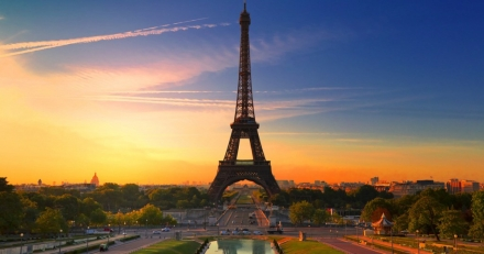 Did you know that there were apartments inside the Eiffel Tower?