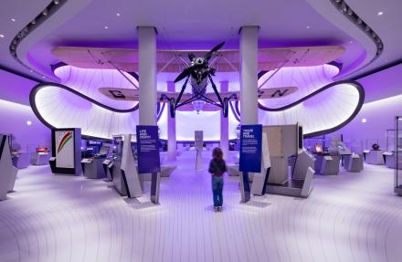 London Science Museum: Mathematics Gallery designed by Zaha Hadid Architects
