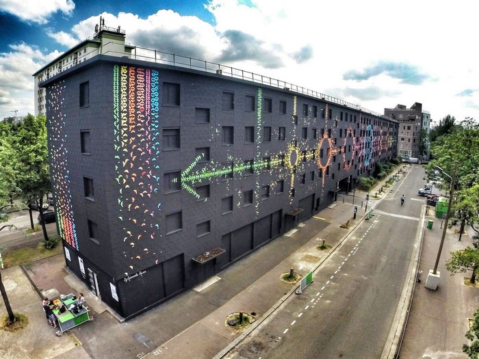 Street art: French artist colors the cities with origamis street art Street art: French artist colors the cities with origamis Street art French artist colors the cities with origamis 5
