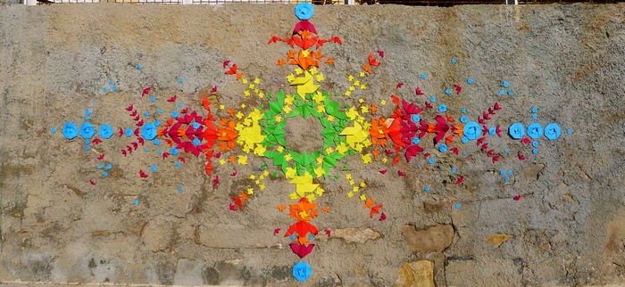 Street art: French artist colors the cities with origamis street art Street art: French artist colors the cities with origamis Street art French artist colors the cities with origamis 6