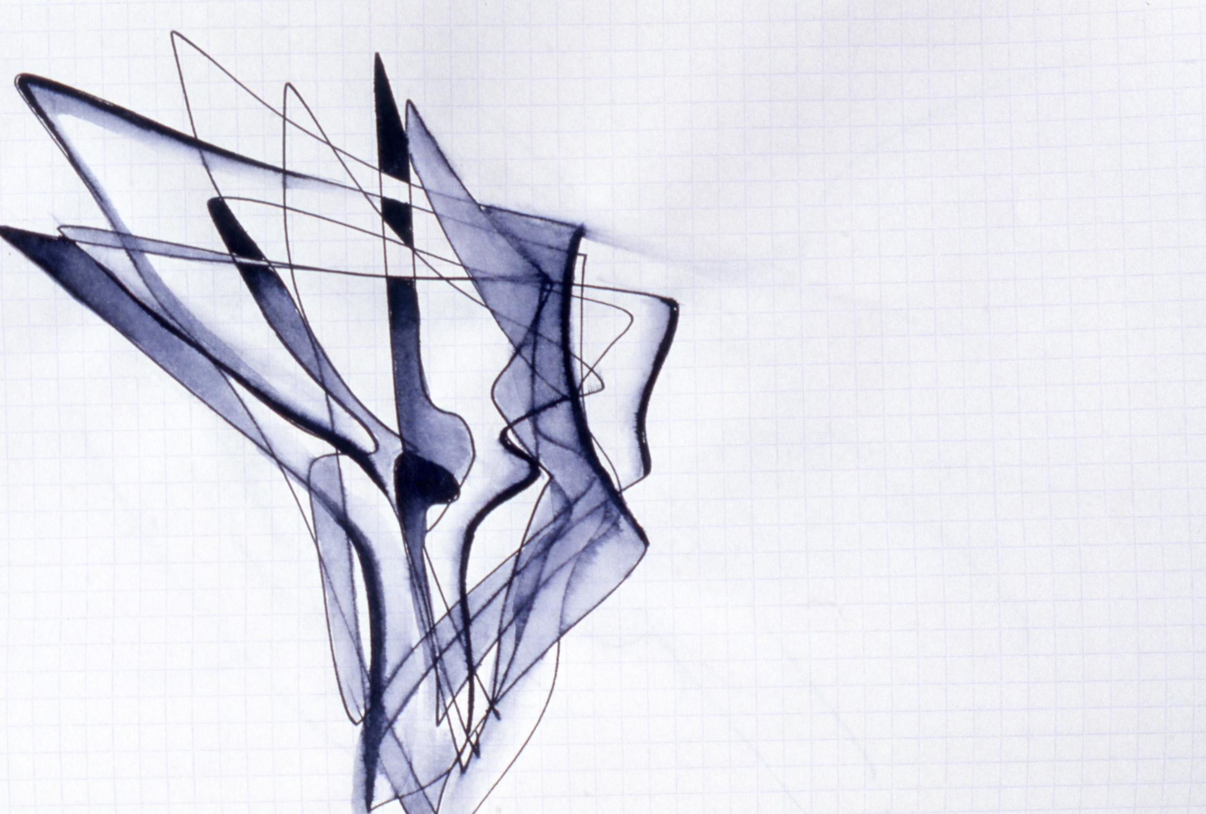 1 Zaha Hadid's early paintings to go on show at Serpentine Sackler Gallery Serpentine Sackler Gallery Zaha Hadid's early paintings at Serpentine Sackler Gallery 1