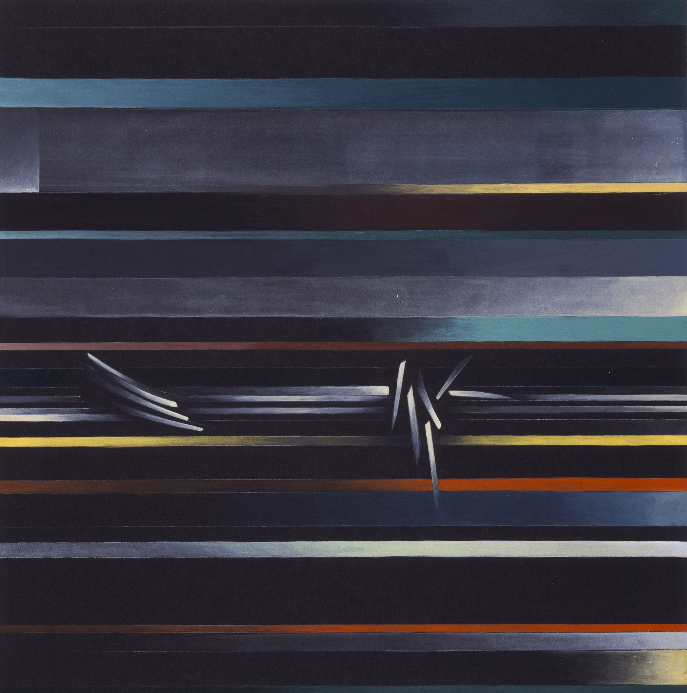 2 Zaha Hadid's early paintings to go on show at Serpentine Sackler Gallery Serpentine Sackler Gallery Zaha Hadid's early paintings at Serpentine Sackler Gallery 2