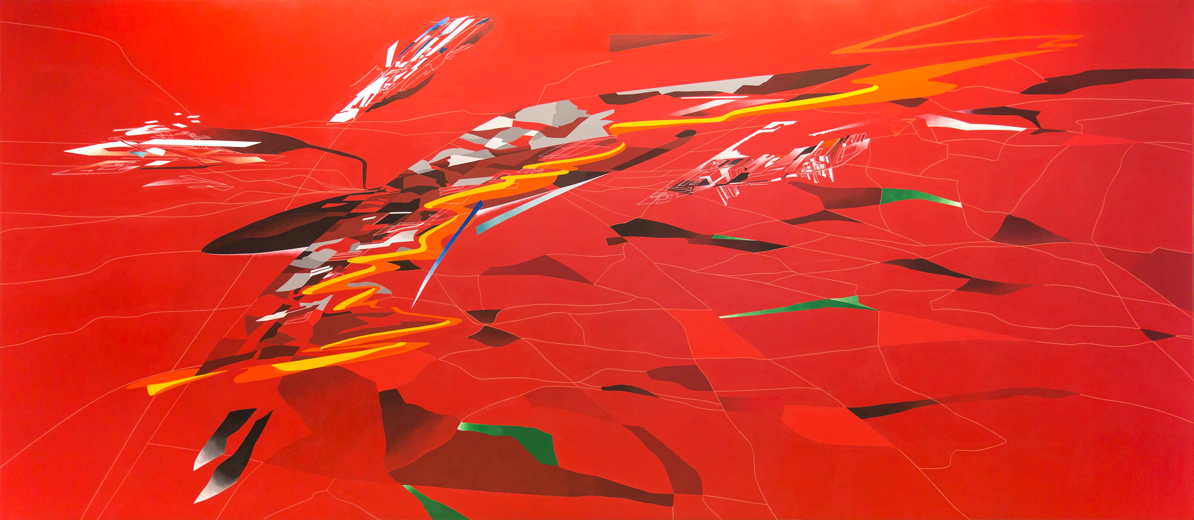 3 Zaha Hadid's early paintings to go on show at Serpentine Sackler Gallery Serpentine Sackler Gallery Zaha Hadid's early paintings at Serpentine Sackler Gallery 3