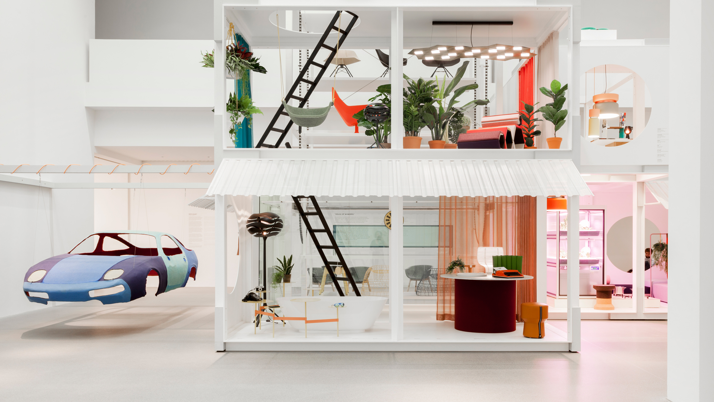 Werner Aisslinger Werner Aisslinger's House of Wonders exhibition cover 7