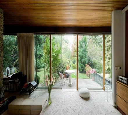 The most fabulous midcentury home in Germany