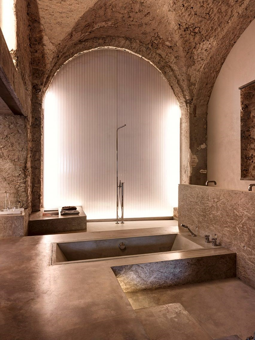 Stones in Interior Design or Back to 1850's, Essential Home  interior design Stones in Interior Design or Back to 1850's 1 3