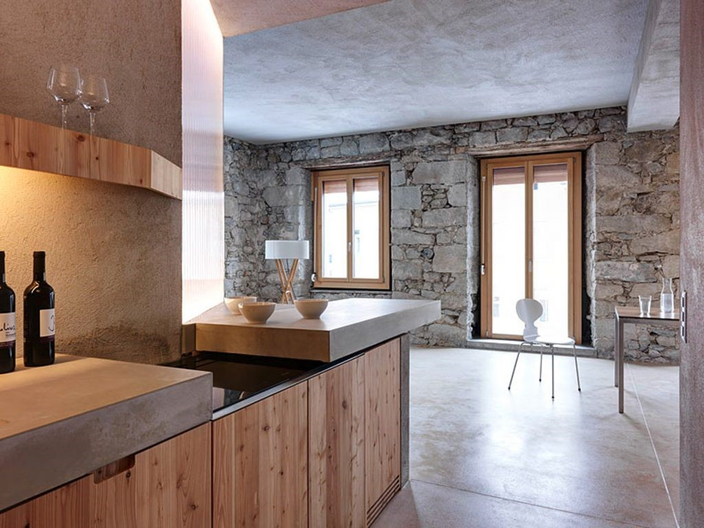 Stones in Interior Design or Back to 1850's, Essential Home  interior design Stones in Interior Design or Back to 1850's 1 4